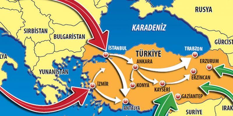 Korona böyle yayıldı! İşte virüsün Türkiye seyahati