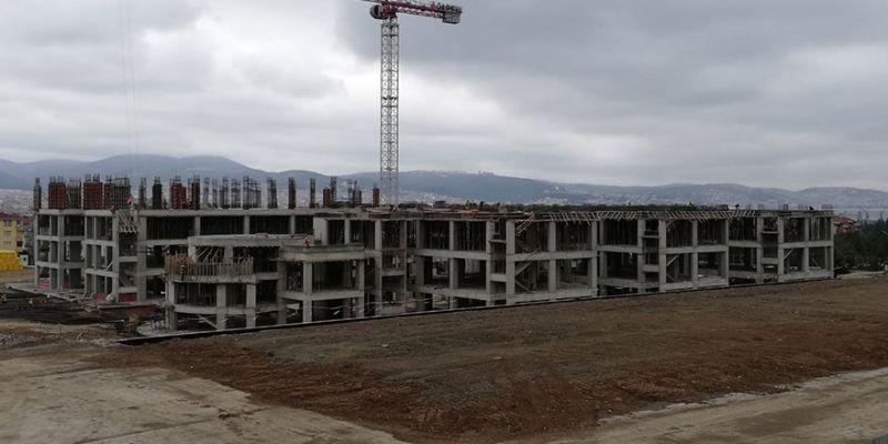 Yeni Gölcük Devlet Hastanesi tam gaz