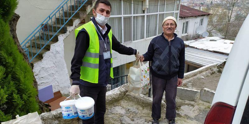 1 haftada bin 238 kişinin yardımına koştular