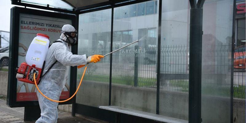 Dezenfekte çalışmaları haftanın 7 günü devam ediyor
