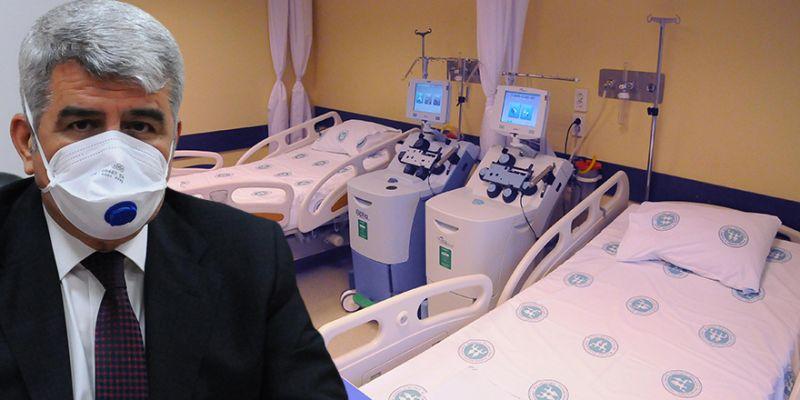 Kocaeli'de iyileşen hastalar şifa verecek