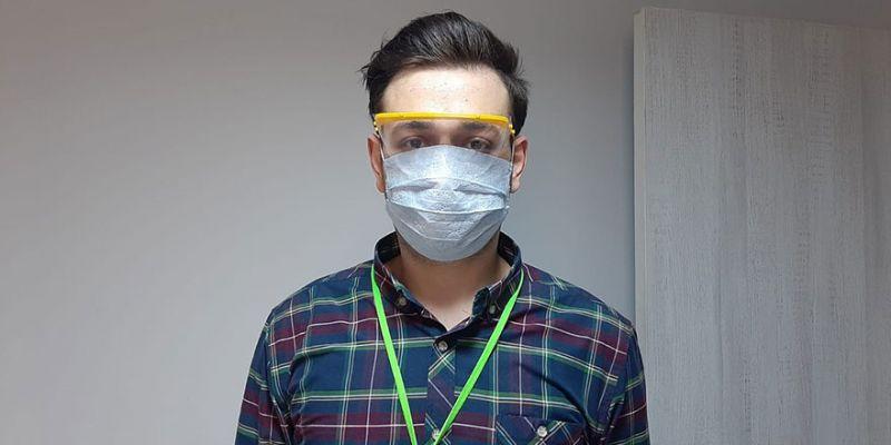 İzmit Belediyesi steril gözlük üretmeye başladı