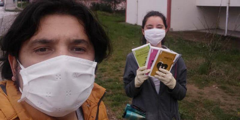 Kitap kampanyasına koronavirüs engeli