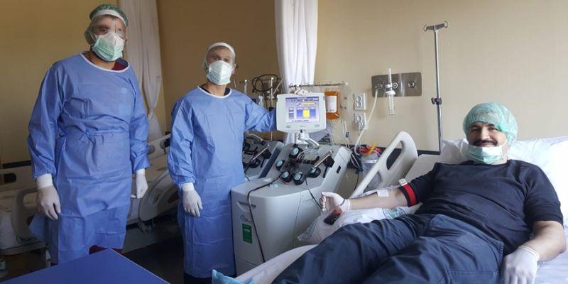 KOÜ, bakanlıktan onayı aldı! İlk kan alımı yapıldı