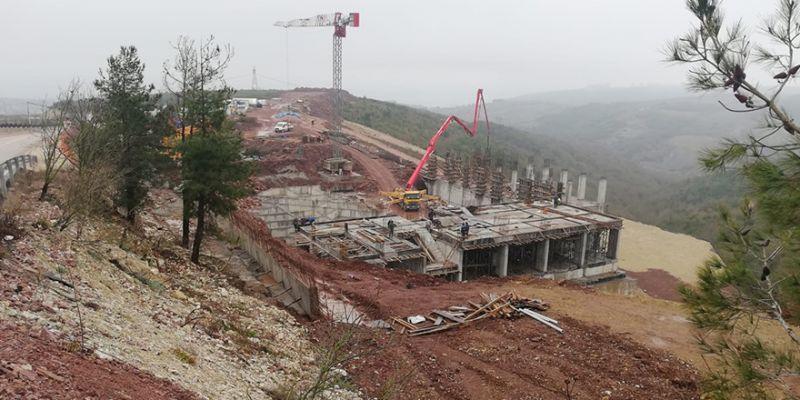 AMATEM-ÇEMATEM inşaatında durmak yok