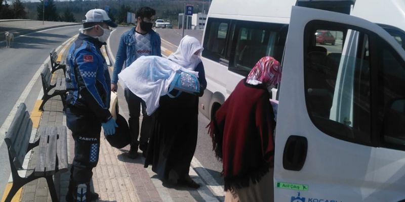 Büyükşehir'den vatandaşlara ulaşım hizmeti