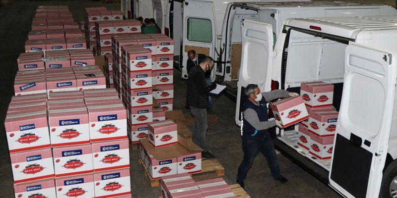 Paketler ihtiyaç sahipleri için yola çıktı