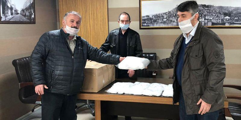 Pastacılar Odası, üyelerine 3 bin adet maske dağıtıyor