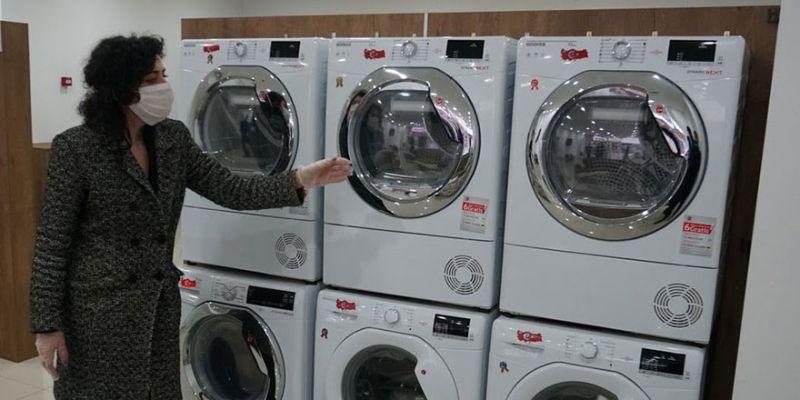 İzmit'te sağlık çalışanları için ücretsiz çamaşırhane