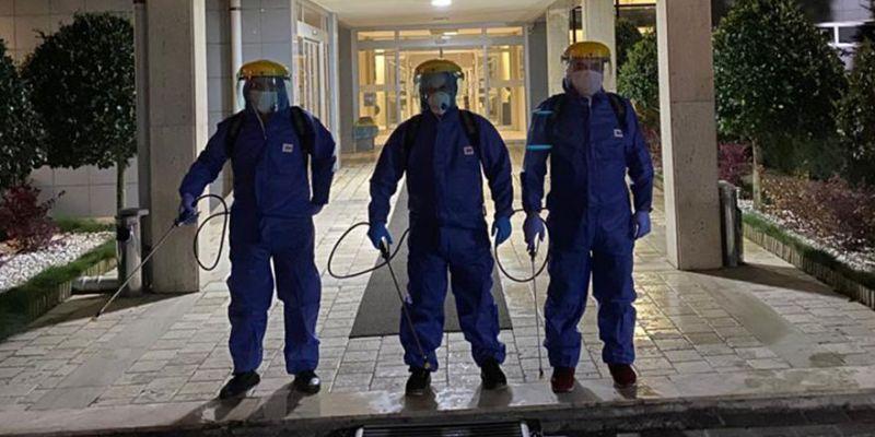 Kimya İhtisas OSB'den koronavirüs mücadelesine destek