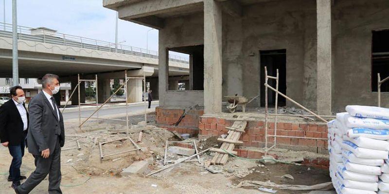 Gölcük'te acil istasyonu inşaatı devam ediyor