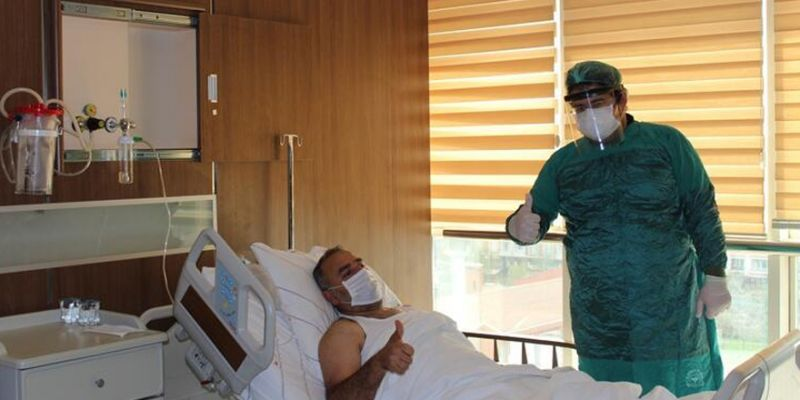 Plazma nakledilen Corona Virüs hastasından güzel haber