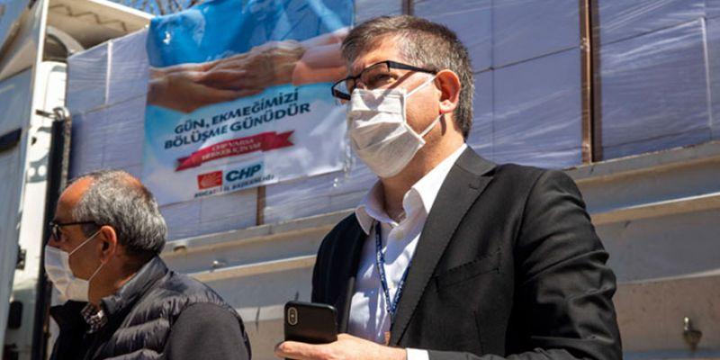 CHP'den 5 bin aileye erzak yardımı