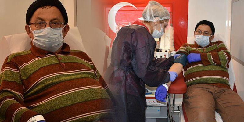 Koronavirüsü yenen müezzin, immün plazma bağışçısı oldu
