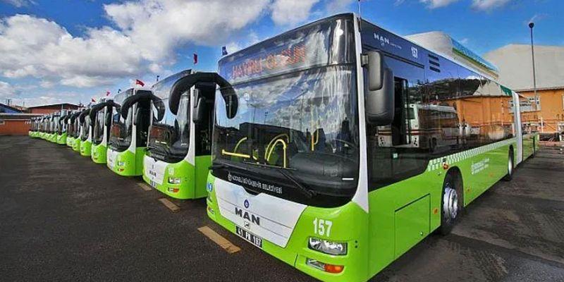 Büyükşehir 109 otobüs alacak
