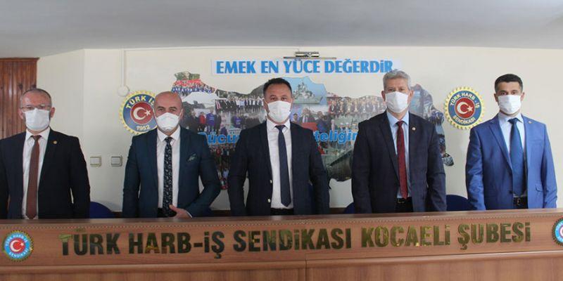 Türk Harb-İş Kocaeli Şube Başkanlığına Korkut Gökbayrak seçildi