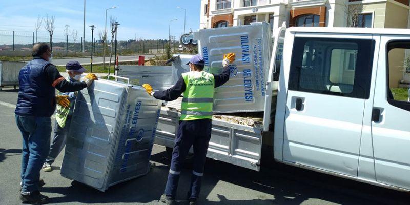 Dilovası'na 400 yeni çöp konteyneri