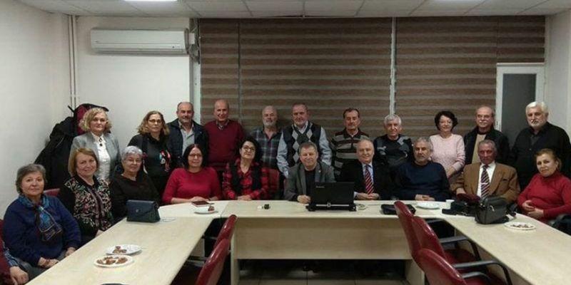 """Kocaeli'de emeklilerden """"Milli Dayanışma Kampanyası""""na destek"""