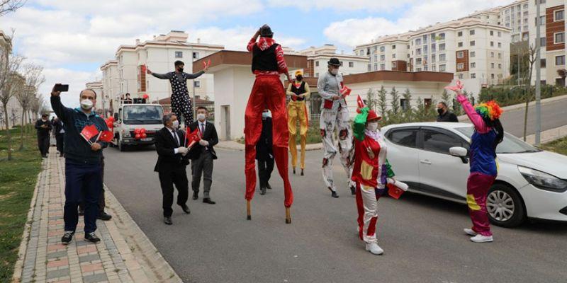 Dilovası Belediyesi 23 Nisan coşkusunu evlere taşıdı