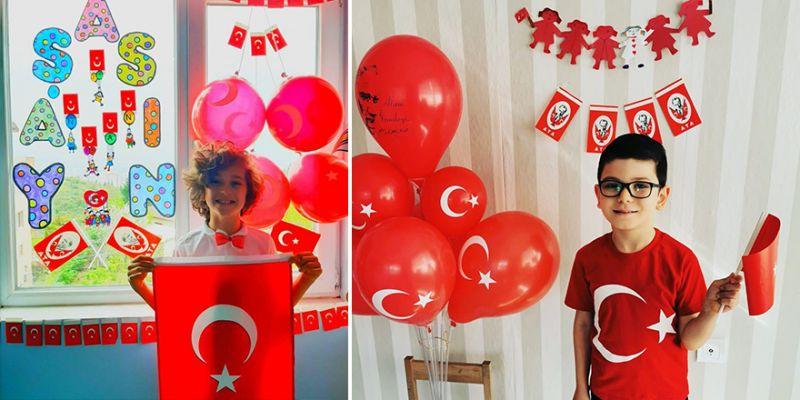 Bahçeşehir Koleji bayram coşkusunu evlere taşıdı
