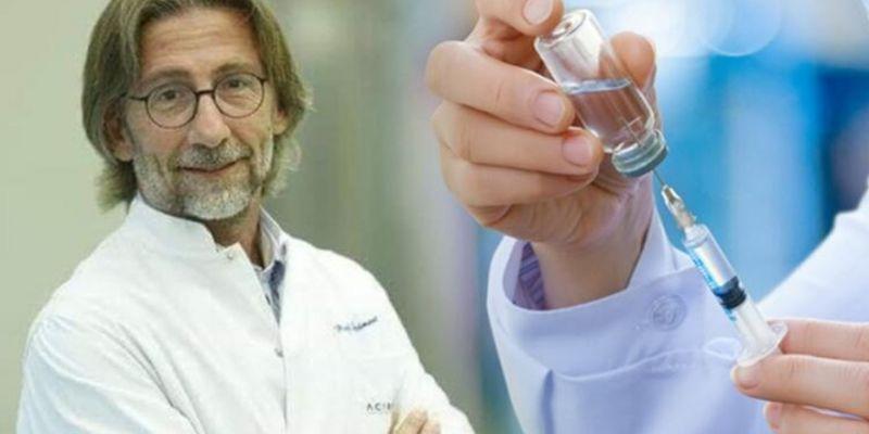 Ercüment Ovalı'dan aşı açıklaması: 'Laboratuvar kısmını tamamladık'