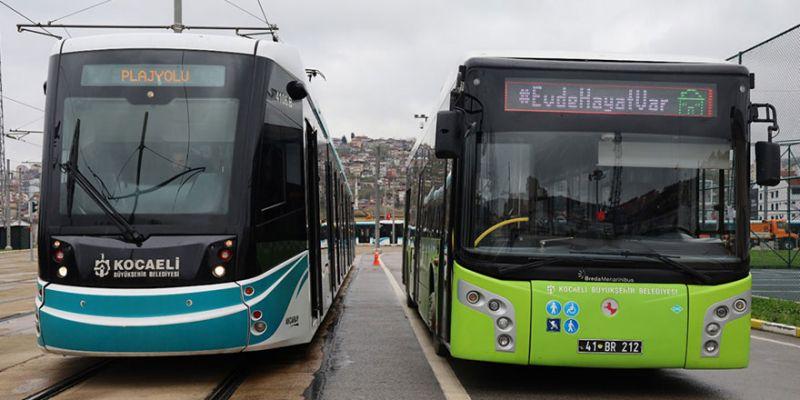 Tramvay ve otobüs saatlerine Ramazan ayı düzenlemesi