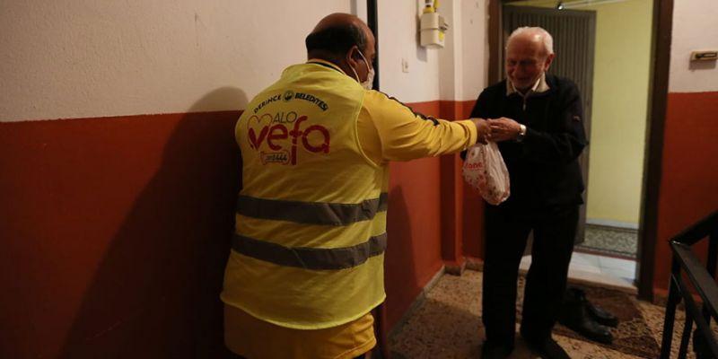 Alo Vefa Hattı 3 bin 500 haneye ulaştı