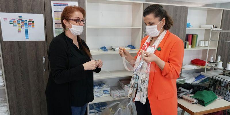 İzmit Belediyesi esnafa siper maske dağıtacak