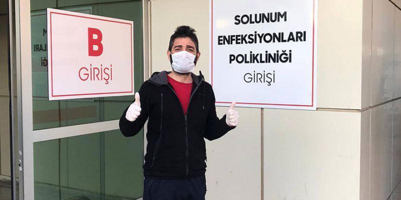 28 günlük koronavirüs mücadelesini kazandı