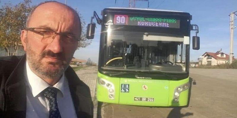Kazada ölen otobüs şoförü toprağa verildi