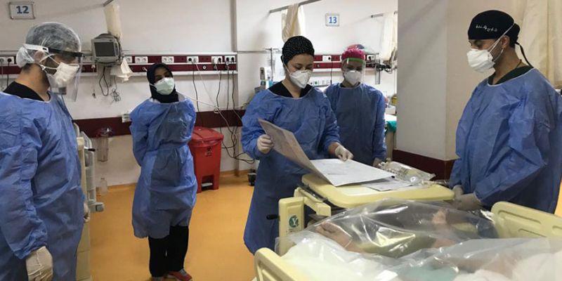 Covid-19 ile mücadelede sağlık çalışanlarına eğitim