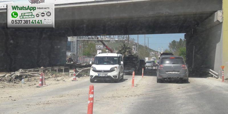 Solaklar Sapağı'nda trafik yine kilit