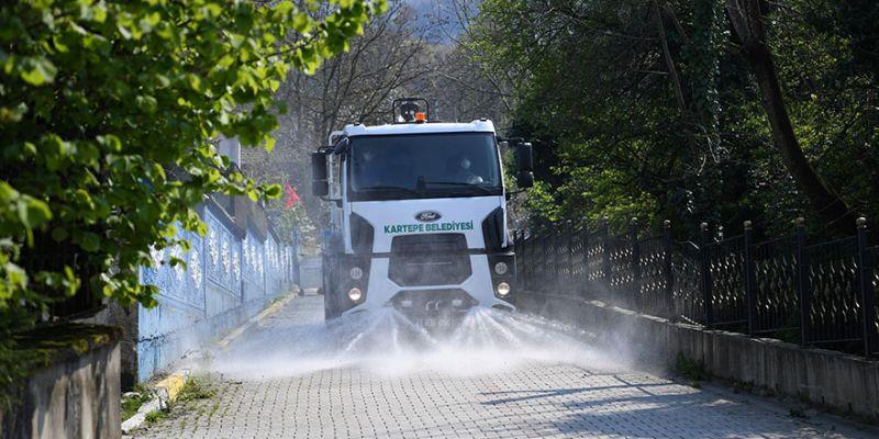 Mahalle temizlikleri sürüyor
