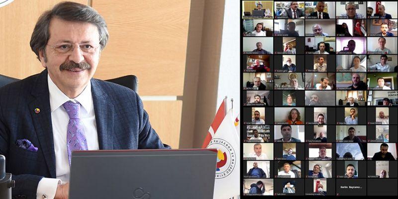 """TOBB Başkanı Hisarcıklıoğlu: """"Kocaeli Ticaret Odamla gurur duyuyorum"""""""