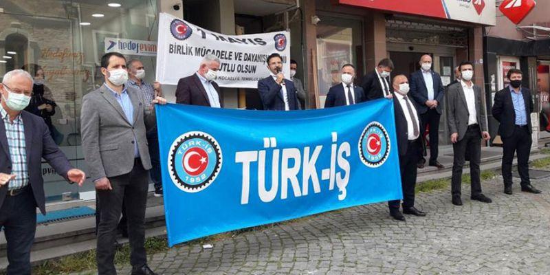 """Türk-İş: """"Meydanlar sessiz taleplerimiz geçerli"""""""