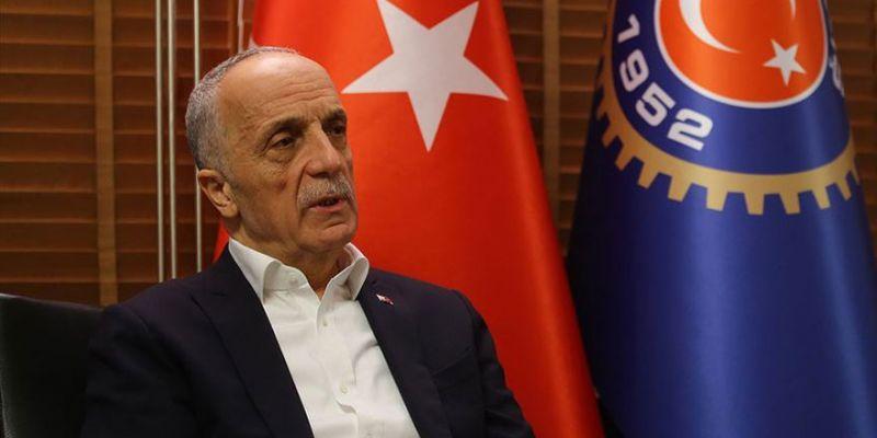 """Türk-İş Genel Başkanı Atalay: """"Bu yıl 1 Mayıs'ı tüm sağlık çalışanlarına atfediyoruz"""""""