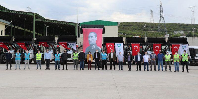 İzmit Belediyesi'nin araç filosu güçlendi