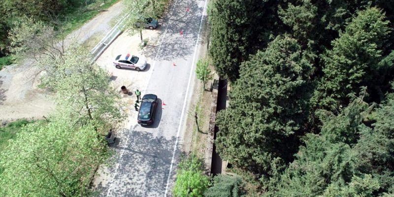 Jandarmadan drone destekli denetim