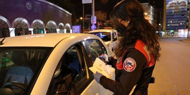 Kocaeli'de 3 günlük yasakta 1 milyon 125 bin TL ceza kesildi