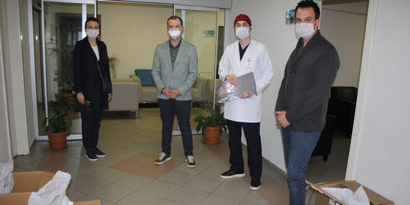 Bahçeşehir Koleji'nden sağlıkçılara büyük destek