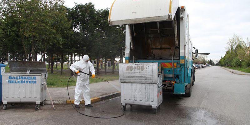 Çöp ve geri dönüşüm konteynerleri yenileniyor
