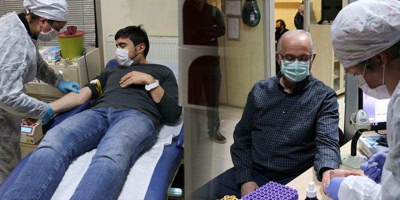 Stoklar azaldı, kampanyaya kan bağışında bulundular