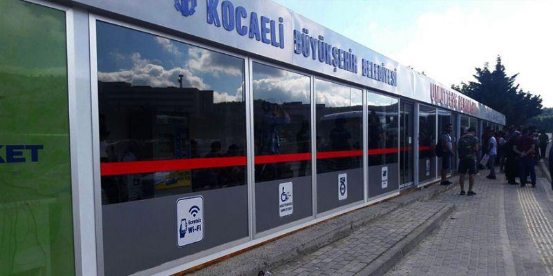Büyükşehir, 70 adet 'Cam Durak' alacak