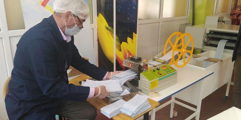 Kovid-19 mücadelesi için 240 bin maske ürettiler