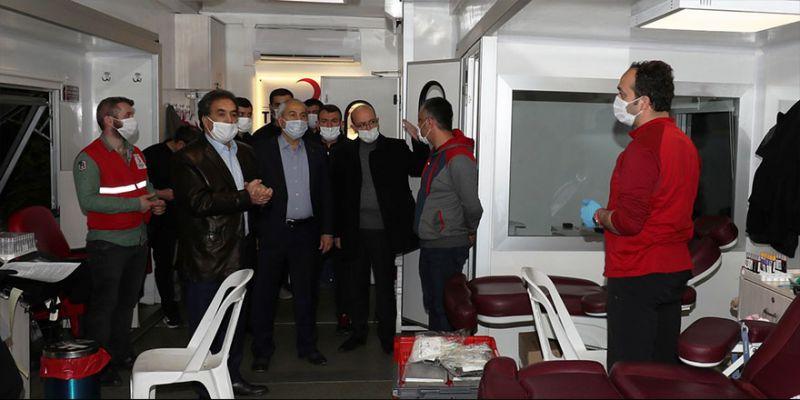 Kızılay'a destek çağrısı: Kan ver can ver