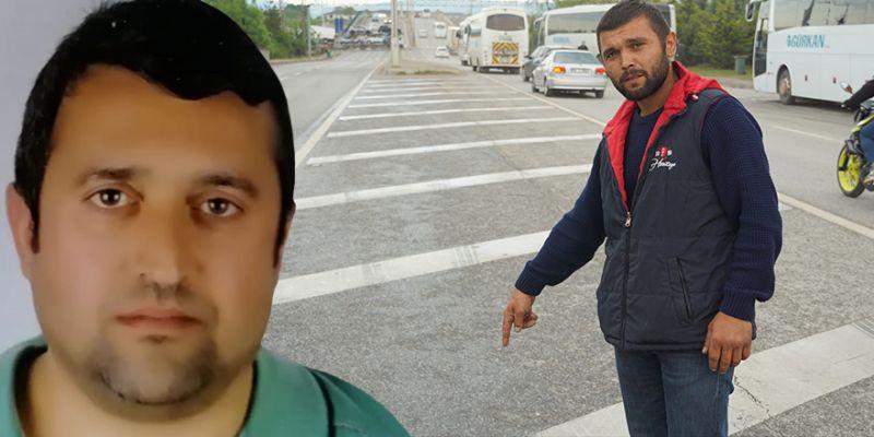 Refüjde kendilerine çarpan sürücü serbest bırakılınca isyan etti: 'Adalet istiyorum'