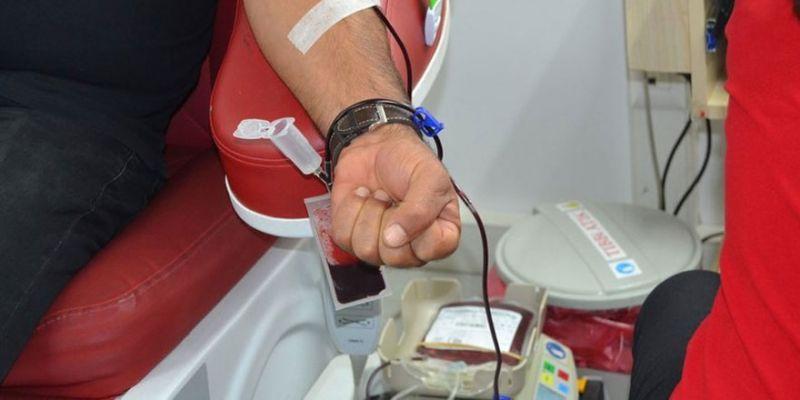 Kan bağışı kampanyasına ilgi büyük oldu