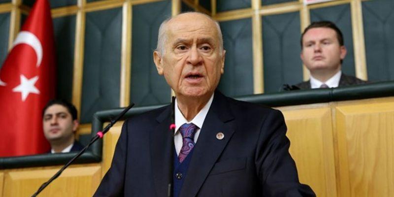 """Bahçeli'den CHP'ye tepki: """"Türkiye batsa havalara uçacaklar"""""""