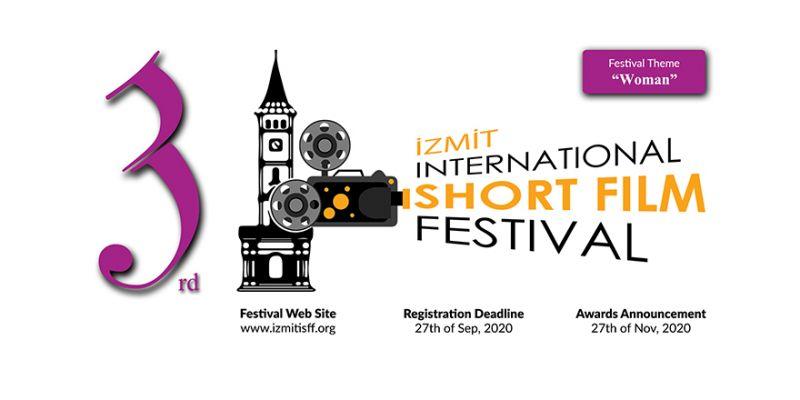 3.İzmit Uluslararası Kısa Film Festivali için online başvuru
