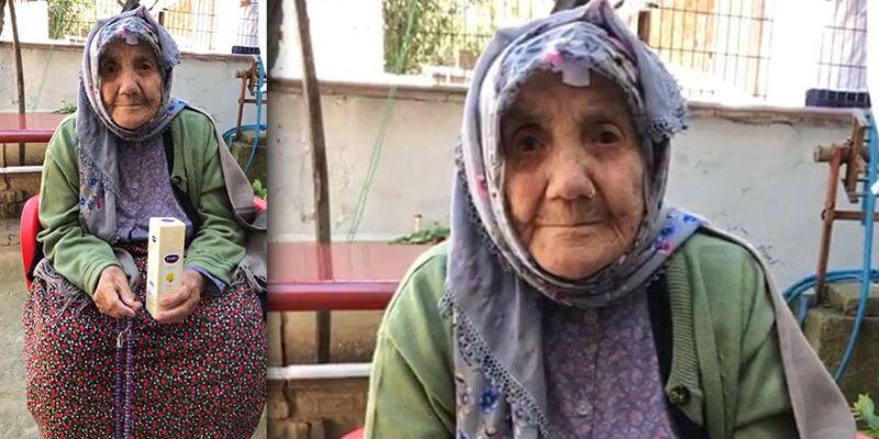 112 yaşındaki Güllü Nine'den Erdoğan'a teşekkür